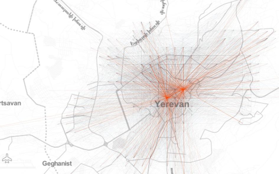Yerevan OD network